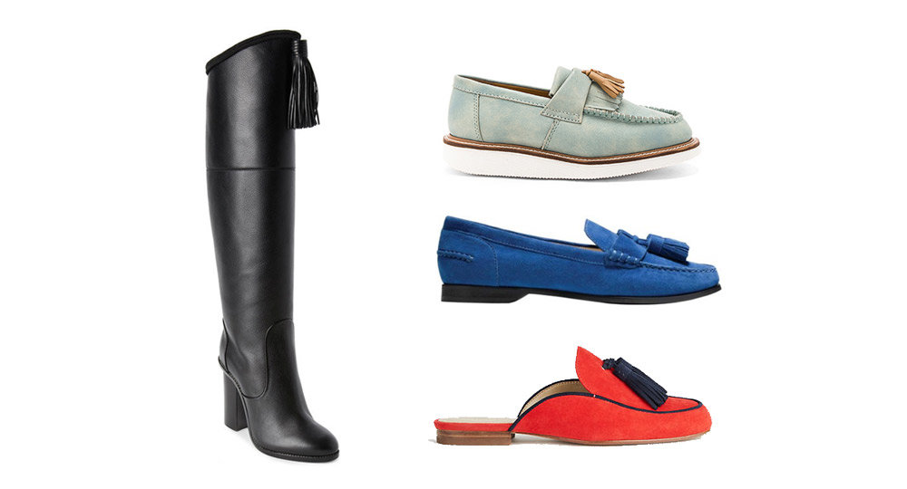 How to Add Tassels (and Style) to Last Season's Shoes from http://shoelistic.com/