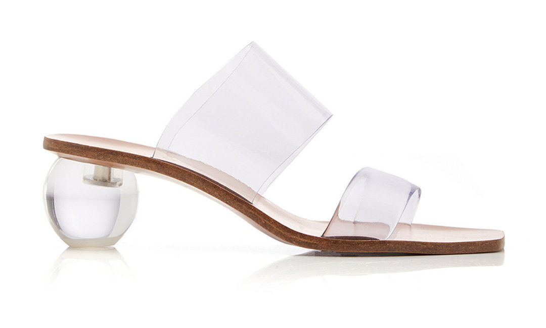 You Clearly Need These Lucite Shoes | Shoelistic.com/Blog