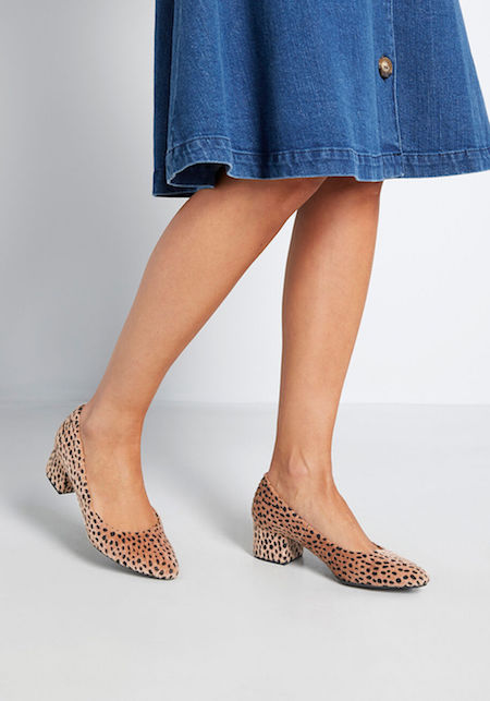 9 Faux Animal Print Shoes from Modcloth | Shoelistic.com/Blog