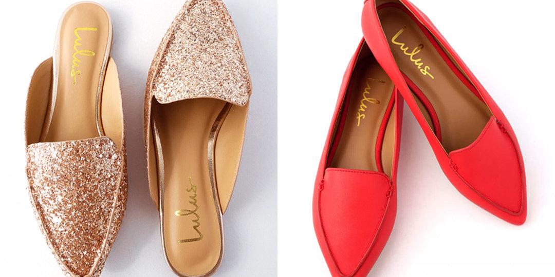9 Festive Flats from Lulu's | Shoelistic.com/Blog