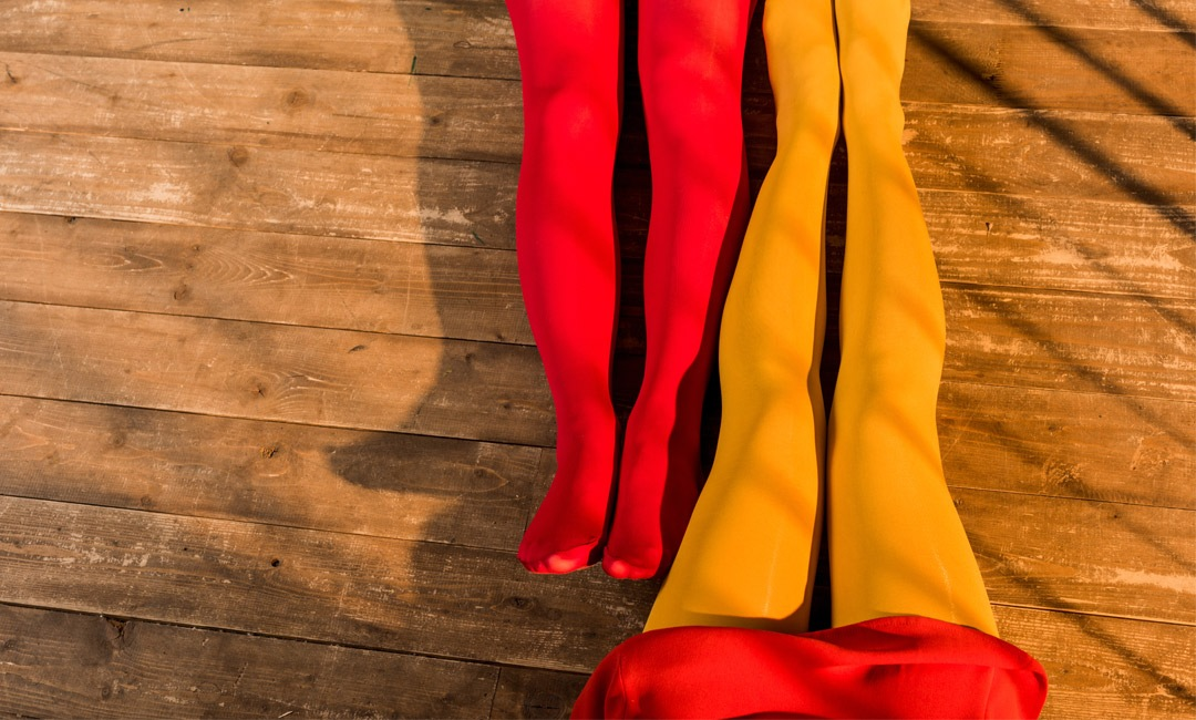 Wake Up Your Winter Wardrobe With These Colorful Tights | Shoelistic.com/Blog