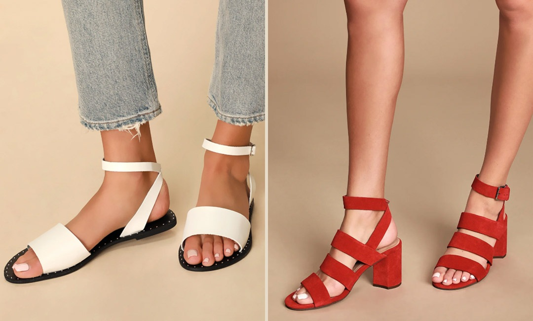 HOMG These 9 Cute Spring Sandals are on Sale at Lulus | Shoelistic.com/Shoes