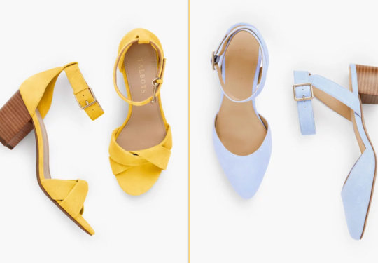 These Super Cute Shoes are 25% Off at Talbots   Shoelistic.com/Blog