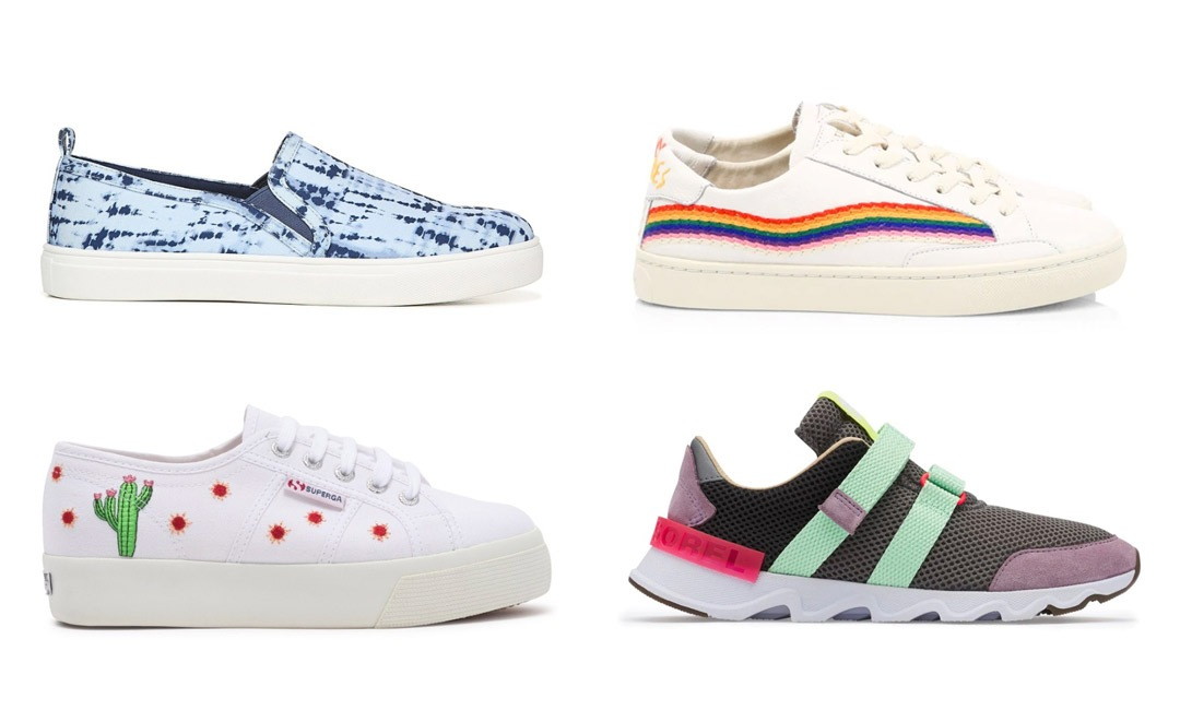 13 Sneakers to Make Traveling Cute and Comfy | Shoelistic.com/Blog