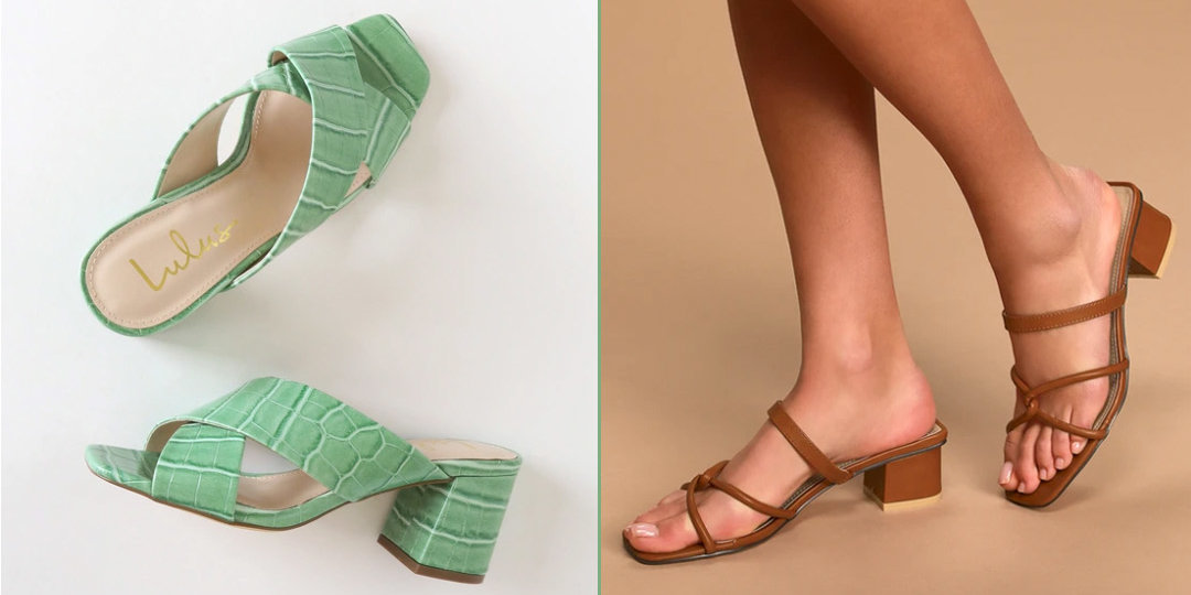 We're Head Over Square-Toe Heels for These Spring Shoe Trends | Shoelistic.com/Blog