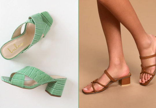 We're Head Over Square-Toe Heels for These Spring Shoe Trends   Shoelistic.com/Blog