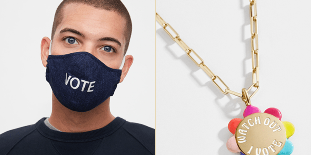 Voting Accessories To Inspire You and Your Crew to VOTE VOTE VOTE | Shoelistic.com/Blog