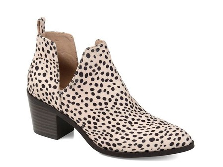 cute patterned fall boots