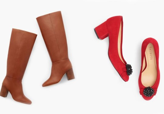 Our Favorite Stylish Shoes from Talbot's | Shoelistic.com/Blog