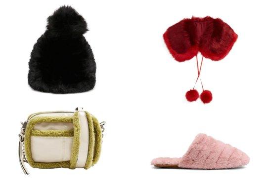 Our Favorite Cute Faux Fur Pieces Of The Season   Shoelistic.com/Blog