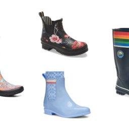 Colorful Rain Boots to Make A Splash This Spring | Shoelistic.com/Blog