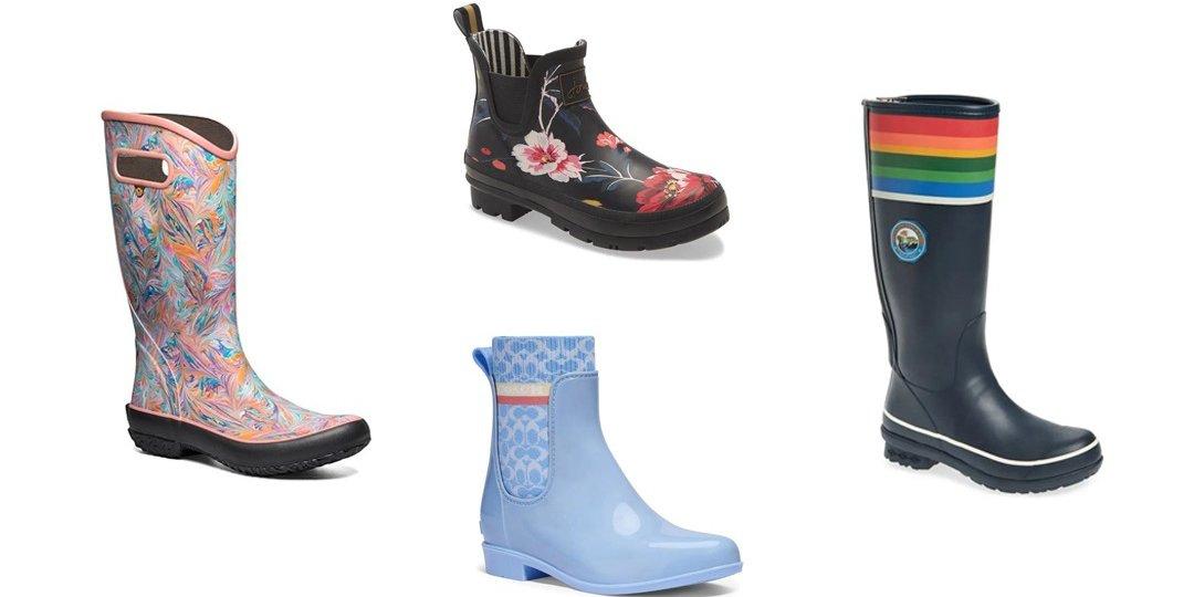 Colorful Rain Boots to Make A Splash This Spring   Shoelistic.com/Blog
