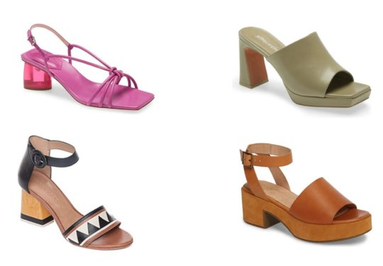 Cute Heeled Sandals We're Wishlisting For Spring | Shoelistic.com/Blog