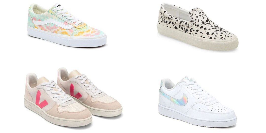 Cute Spring Sneakers We'll Be Wearing All Season   Shoelistic.com/Blog