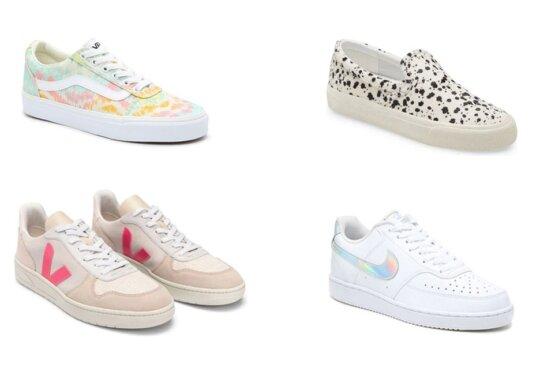 Cute Spring Sneakers We'll Be Wearing All Season | Shoelistic.com/Blog