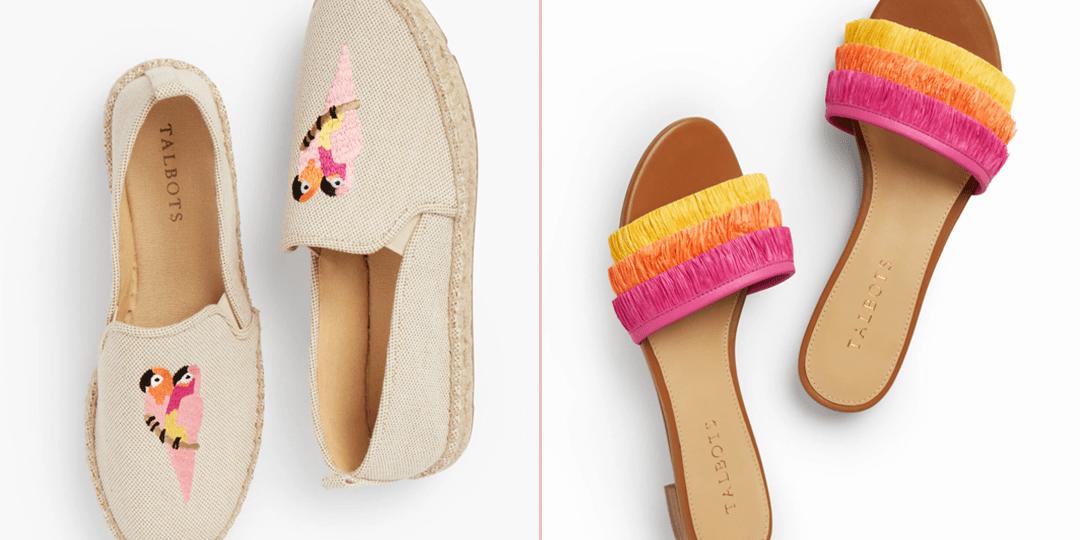 Summer Shoes on Sale at Talbots | Shoelistic.com/Blog