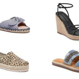 Summery Espadrilles We're Wearing 24/7 | Shoelistic.com/Blog