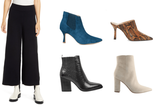 What Shoes to Wear with Wide-Leg Pants | Shoelistic.com/Blog