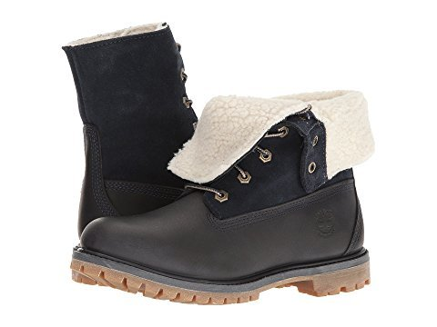 Timberland Authentics Teddy Fleece Waterproof Fold-Down Boot