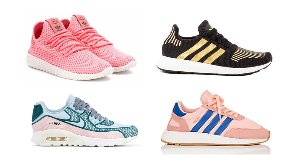 6 Sneakers You Can Wear From the Gym to Brunch from http://shoelistic.com/BLOG/