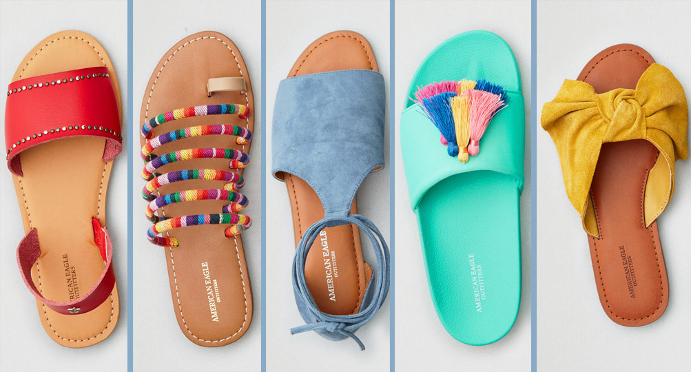 164eb7a89d52 15 Cute Sandals from AEO Under  30