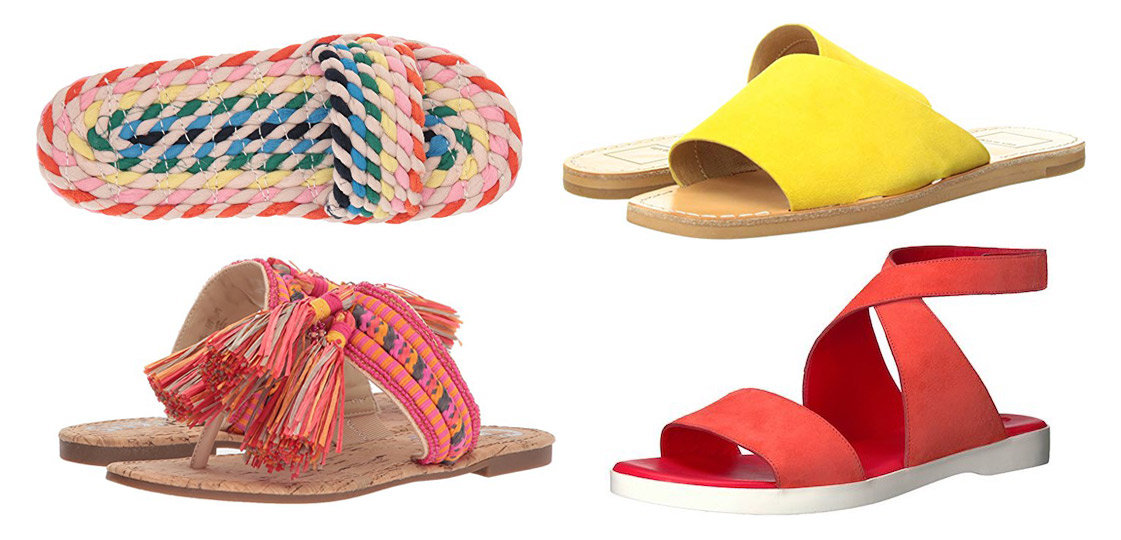 Statement Flats for Summer | Shoelistic.com/Blog