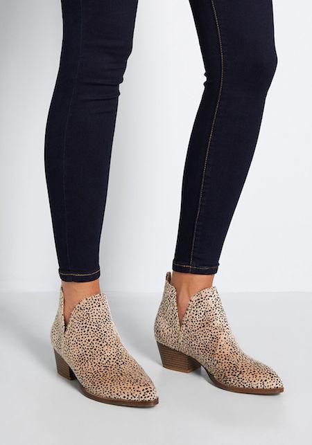 9 Faux Animal Print Shoes from Modcloth | Shoelistic.com/Blog