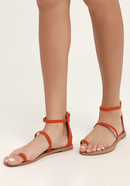 7 Colorful Sandals Under $50 | Shoelistic.com/Blog